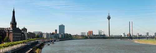 Photo: Skyline of Düsseldorf, Source: DMT
