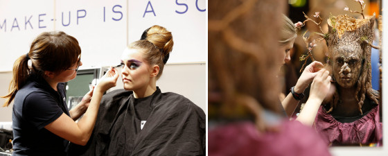 Photos BEAUTY and make-up artist design show